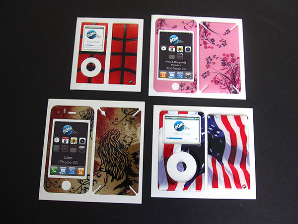 First Look: Oten DomeSkin for iPod nano, classic, touch, iPhone 3G/3GS/4 + iPad