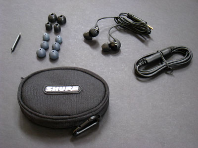 Review: Shure SE110 Sound Isolating Earphones