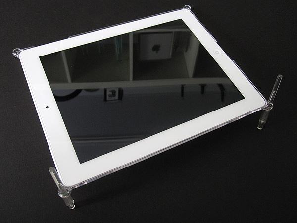 First Look: Simplism Crystal Gaban Set for iPad 2