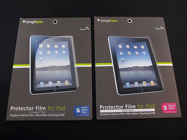 First Look: Simplism Protector Film for iPad (Glare/Anti-Glare) 1
