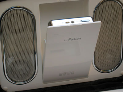 Review: Sonic Impact i-Fusion Portable Speaker System
