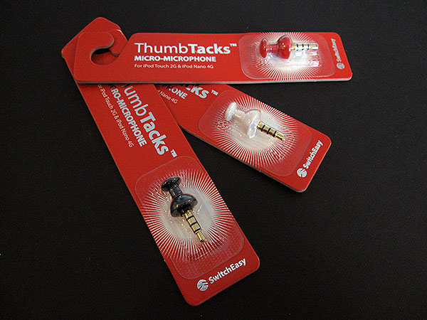 Review: SwitchEasy ThumbTacks Micro-Microphone