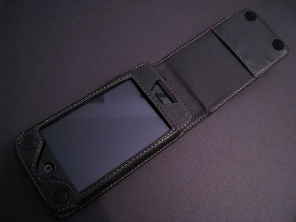 Preview: Tekkeon Leather Flip Case for iPhone