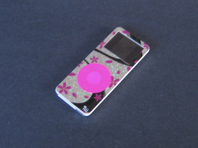 Pink Swirl with Pink Click Wheel