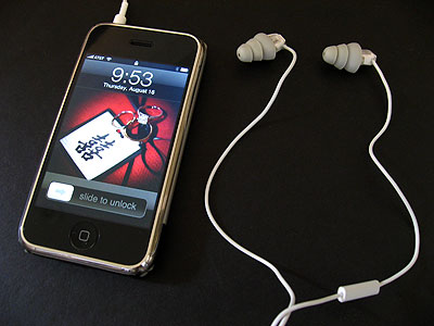 Review: Ultimate Buds Apple-Etymotic ER-6i iPhone Earphones 1