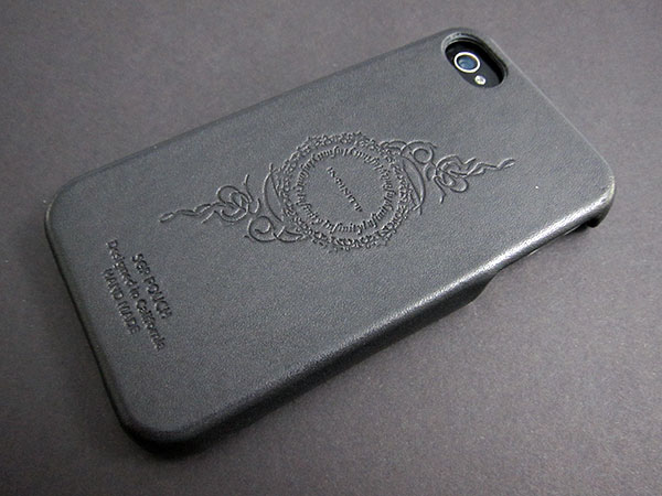 First Look: United SGP Genuine Leather Grip for iPhone 4
