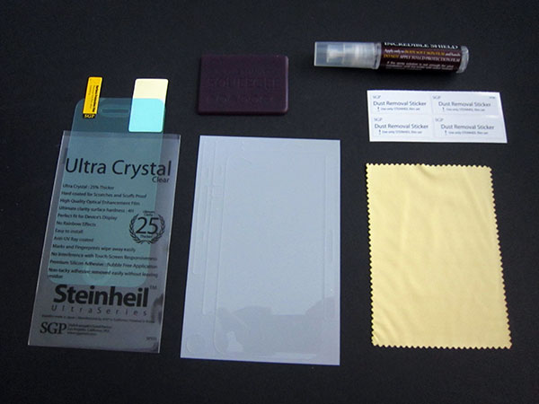 First Look: United SGP Steinheil + Incredible Shield Film for iPhone 4