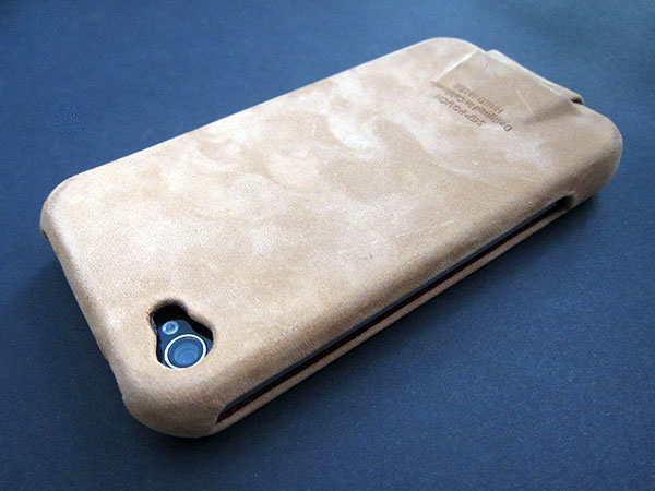 First Look: United SGP Leather Pouch Vintage Edition for iPhone 4