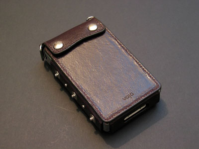 Review: Vaja Classic AP96 Studded Leather Case for 4G iPod