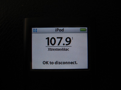 Review: XtremeMac AirPlay Boost for iPod 5G and nano 2G