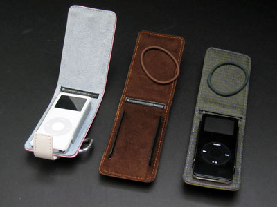 Review: XtremeMac MicroWallet Accent, Leather and Pastel for iPod nano
