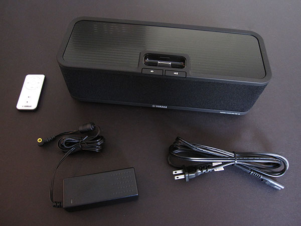 Review: Yamaha PDX-30 Portable Player Dock for iPhone