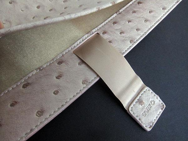 First Look: Zenus Masstige Ostrich Pouch Case for iPad 2