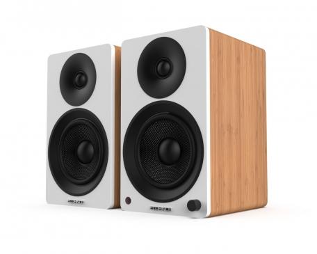 Fluance Ai40 Powered 5 Bookshelf Speakers