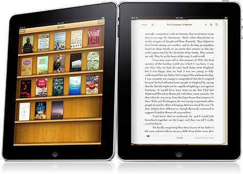 iPad with iBooks.