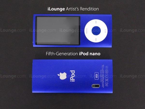 iPod Nano 5g artists rendition - iLounge