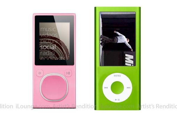 iLounge illustration of 4th generation iPod Nano