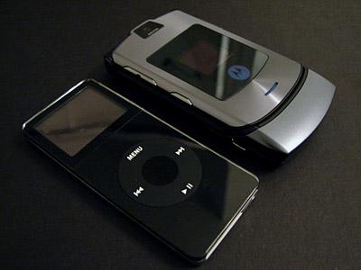 Hands on with the Motorola RAZR V3i