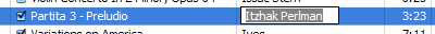Tagging Songs in iTunes