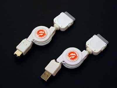 Review: Global Source Retractable USB & FW Data Cables