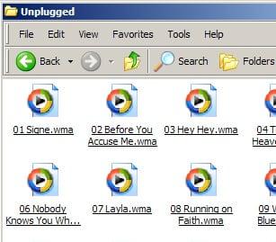 Importing Windows Media Audio into iTunes