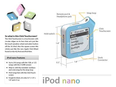 iPod flash Concepts Winner Announced