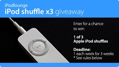 Share your thoughts, win an iPod shuffle! – CLOSED
