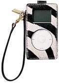 Coach debuts zebra print iPod mini case