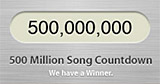 Over half a billion songs sold from iTunes Music Store