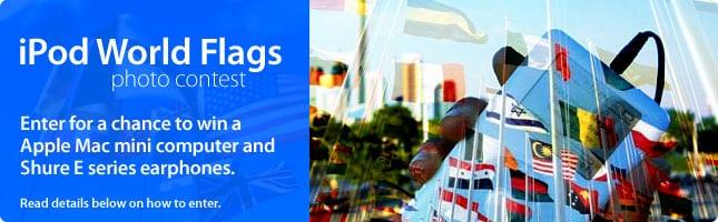 iPod World Flags Photo Contest