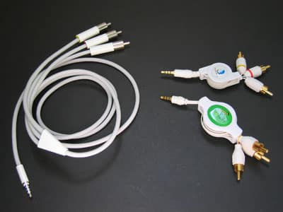Review: Pacific Rim Technologies Retractable AV Cable for iPod