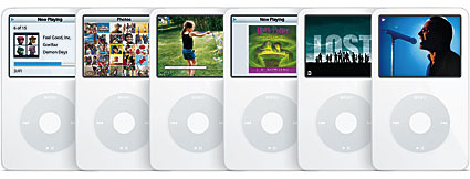 Apple intros fifth-generation iPod with video playback