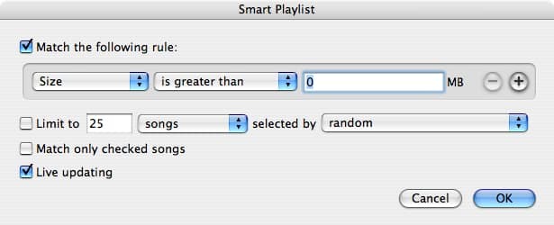 Omitting specific playlists from iPod