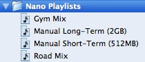 Manually syncing small iPods with playcounts and ratings