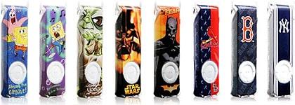 XtremeMac debuts Shieldz Collector Series iPod shuffle cases