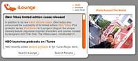iLounge Dashboard Widget updated