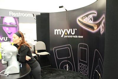 Macworld Expo 2006: MicroOptical myVu Personal Media Viewer