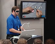 OWC expert replaces iPod batteries blindfolded