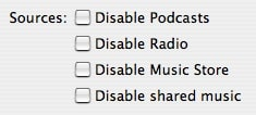 Cleaning up iTunes' Source column