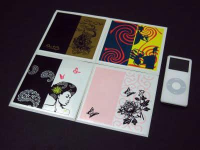 First Look: Kiwali NanoDeco Stickers for iPod nano
