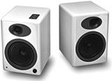 Audioengine offers powered bookshelf speakers for iPods