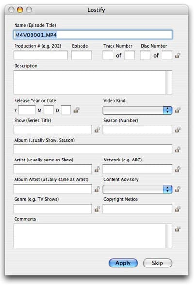 Creating iPod videos