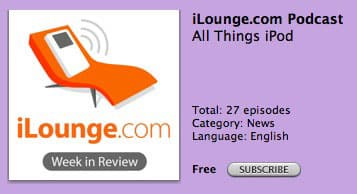 iLounge Week in Review podcasts