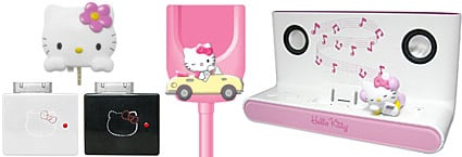 Hello Kitty iPod gear abounds