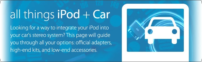 iPod Your Car Central Information Hub