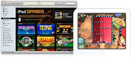 Apple debuts new iPod with games