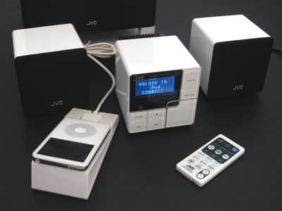 Review: JVC NX-PS1 Compact Component Speaker with Connection for iPod