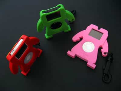 First Look: NanoMonsters Cases for iPod nano