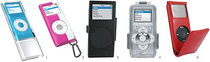 New 2G iPod nano cases debut in iLounge Buyers' Guide