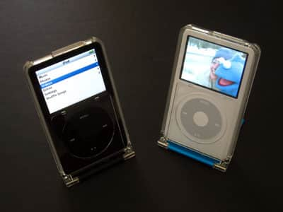 Review: Griffin Technology Centerstage Clear Protective Case and Stand for iPod